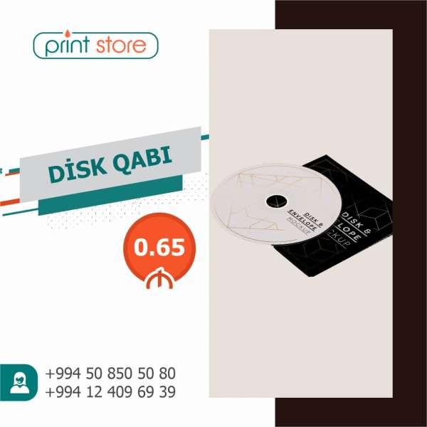 Disk üzərinə çap və Disk qabı